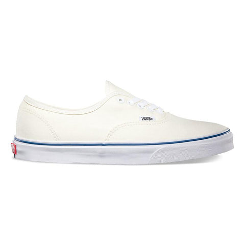 Authentic Vans White