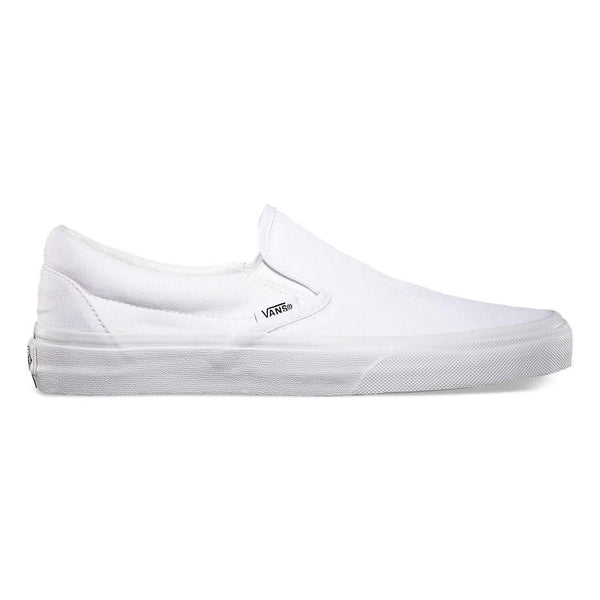 Classic Slip-On Unisex Vans True White