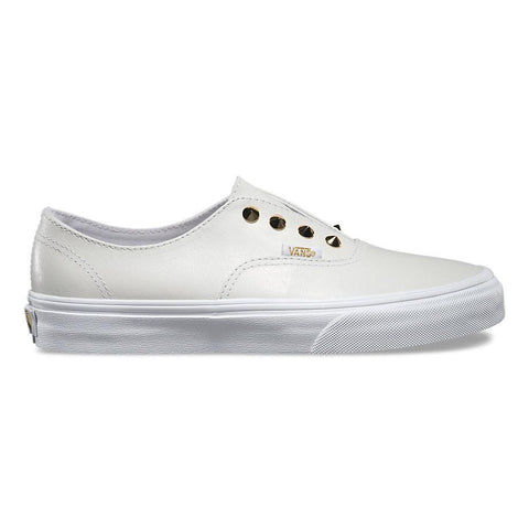 Authentic Gore Studs Vans Wm Leather/True White