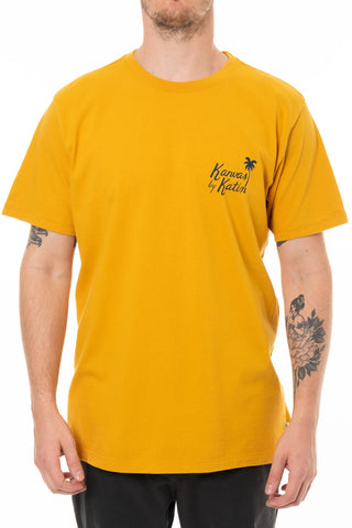 Vintage Beachside Tee Katin Mn Gold