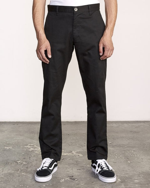 RVCA Weekend Stretch Pant Men Black