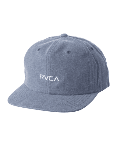 RVCA Tonally Embroidered Hat Mid Blue
