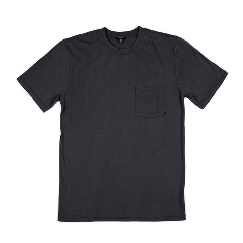 Brixton Dean S/S Men Charcoal