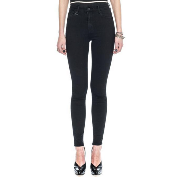 Neuw Marilyn Skinny Women Black Raw