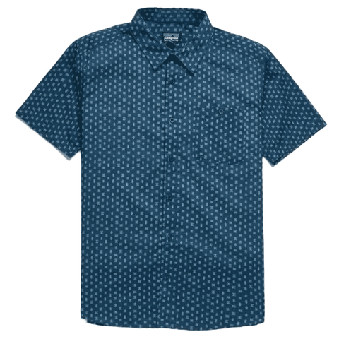 Go To Shirt Men Patagonia Space Micro Stone Blue