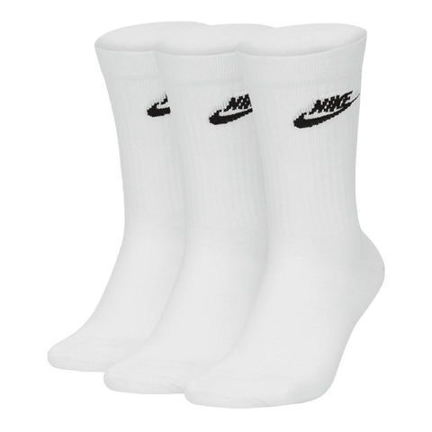 Nike NSW Everyday Essential 3 Pack Crew Sock Men White