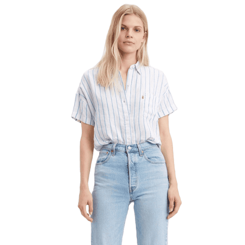 Levi's The Alexandra S/S Women Addyson Stripe