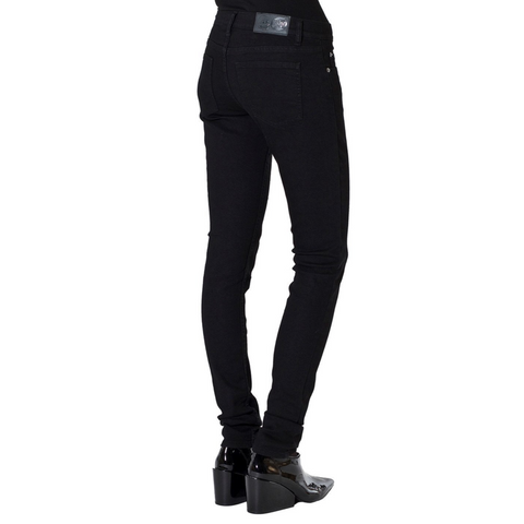 Cheap Monday Slim Women Pitch Black