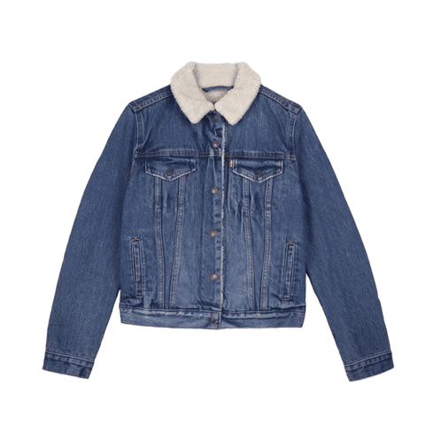 Levi's Original Sherpa Trucker Women Extremely Lovable