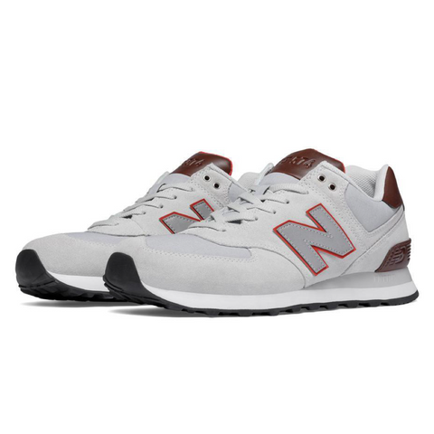 ML574BCA New Balance Men Grey/Brown