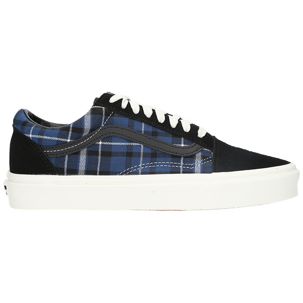 Vans Old Skool Men Plaid Mix (Black/Navy)