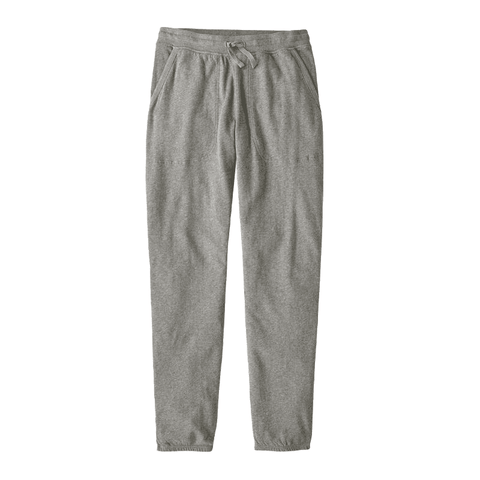 French Terry Pants Patagonia Wm Feather Grey