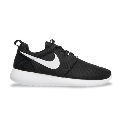 Roshe Run Women Nike Black/White