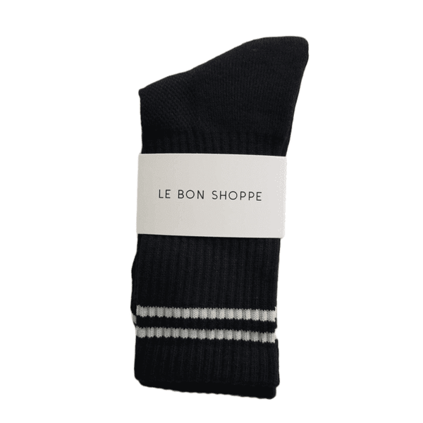 Le Bon Shoppe Boyfriend Socks Women Noir