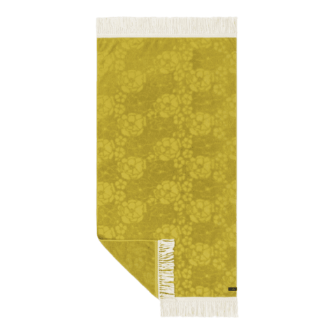 Slowtide French Bloom Beach Towel Mustard