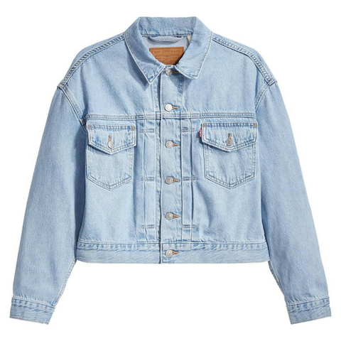 Levi's New Heritage Trucker Jacket Women Get Over It