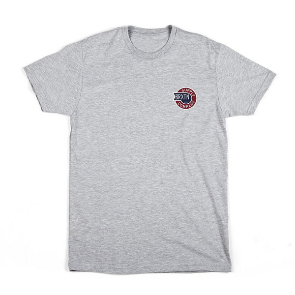 Sledd S/S Tee Brixton Heather Grey