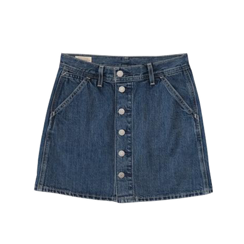 Levi's Button Front Utility Skirt Women Snooze Ya Lose