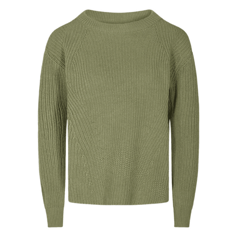 Minimum Caire Jumper Sweater Women Oil Green Melange