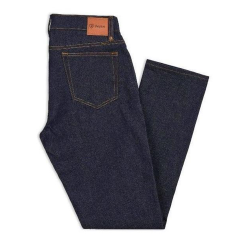 Brixton Reserve Denim Pant Men Raw Indigo