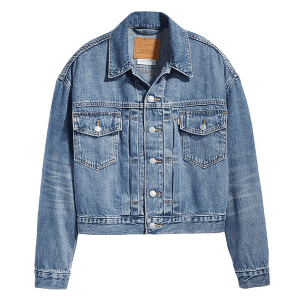 Levi's New Heritage Trucker Women Turn the Tide