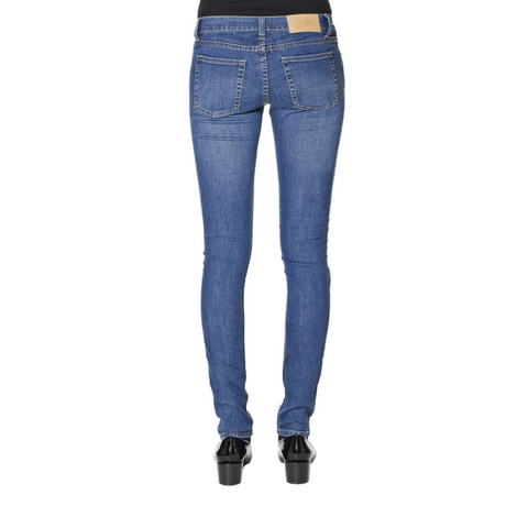 Cheap Monday Slim Credit Mid Blue