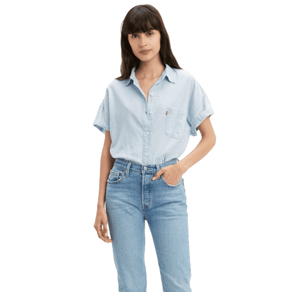 Levi's The Alexandra S/S Women Light Blue