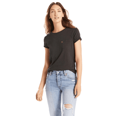 Levi's Perfect Crew Tee Women Black
