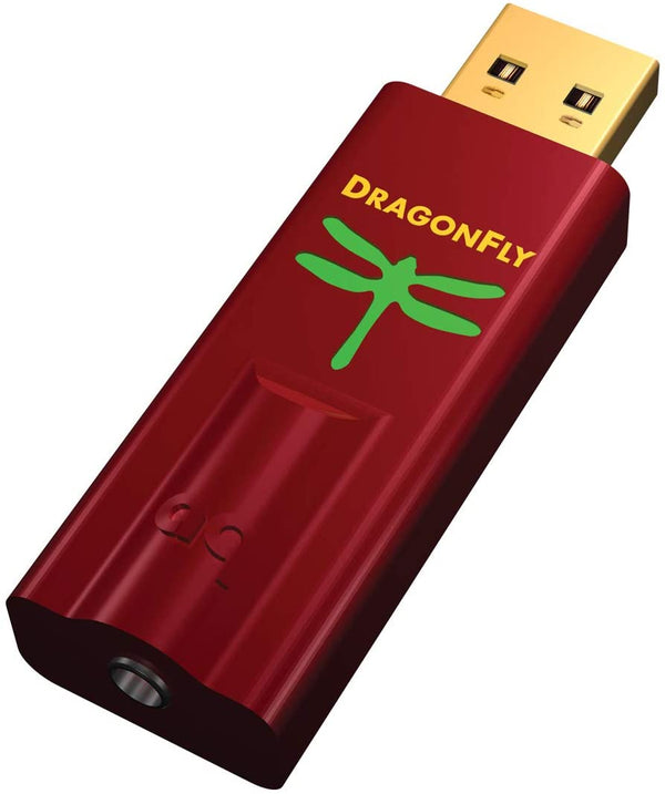 AudioQuest Dragonfly Red USB DAC/Headphone Amp Reviews Compendium
