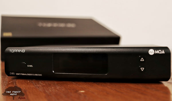 TOPPING D90 MQA DAC Review