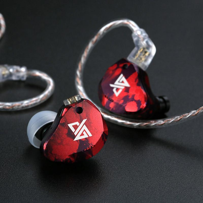 Apos Audio AuGlamour | 徕声 Earphone / In-Ear Monitor (IEM) AuGlamour RT3 In-Ear Monitor (IEM) Earphones Red