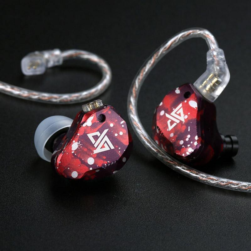 Apos Audio AuGlamour | 徕声 Earphone / In-Ear Monitor (IEM) AuGlamour RT3 In-Ear Monitor (IEM) Earphones Red-White