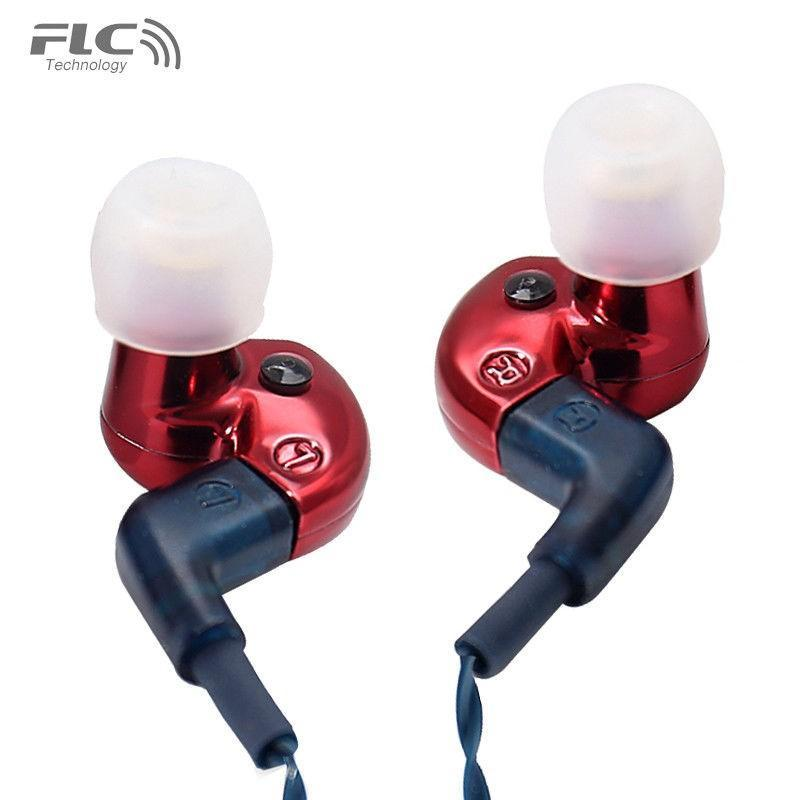 Apos Audio Forrest Earphone / In-Ear Monitor (IEM) FLC8S IEM Earphones Red
