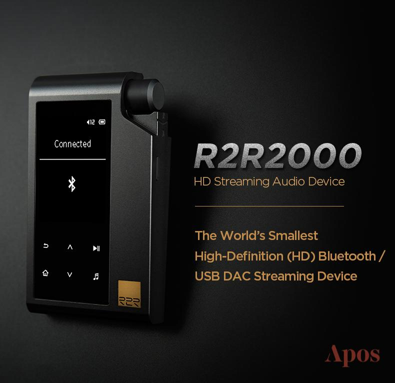 Apos Audio HIFIMAN DAP (Digital Audio Player) HIFIMAN R2R2000 HD Streaming Digital Audio Player