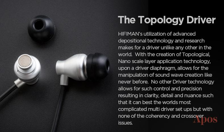 Apos Audio HIFIMAN Earphone / In-Ear Monitor (IEM) HIFIMAN RE800 IEM Silver