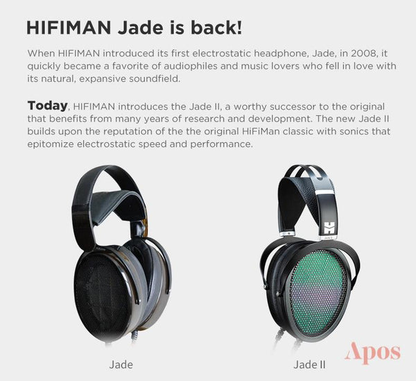 Apos Audio HIFIMAN Headphone HIFIMAN Jade II Electrostatic System