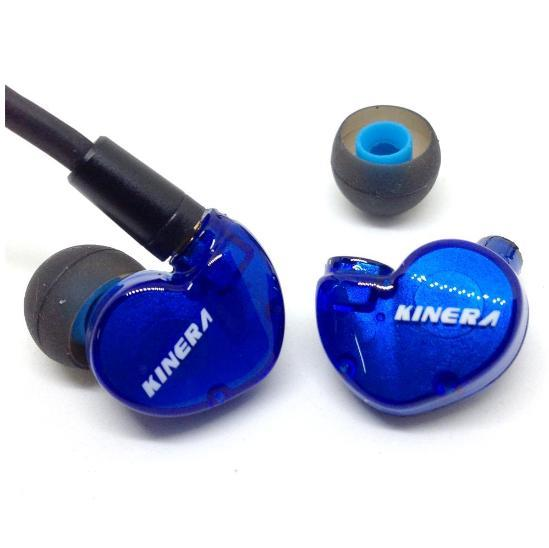 Apos Audio Kinera | 根鸟 Earphone / In-Ear Monitor (IEM) Kinera BD005 In-Ear Monitor Earphone with Mic Blue