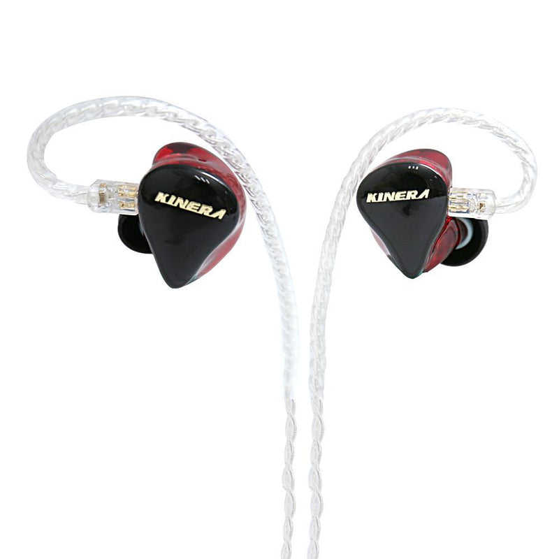 Apos Audio Kinera | 根鸟 Earphone / In-Ear Monitor (IEM) Kinera H3 In-Ear Monitor Earphone Red