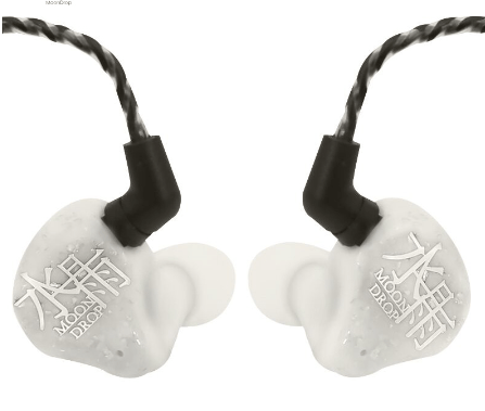 Apos Audio Moondrop | 水月雨 Earphone / In-Ear Monitor (IEM) Moondrop Blessing In-Ear Monitor (IEM) Earphone Gold