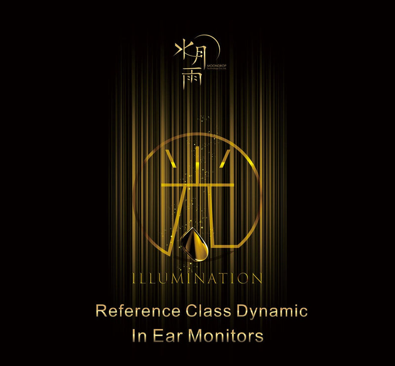 Apos Audio Moondrop Earphone / In-Ear Monitor (IEM) Moondrop Illumination Reference-Class Dynamic IEM