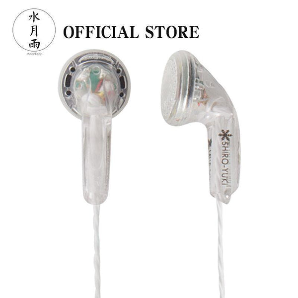 Apos Audio Moondrop | 水月雨 Earphone / In-Ear Monitor (IEM) Moondrop Shiro-Yuki Dynamic Earbud Earphone