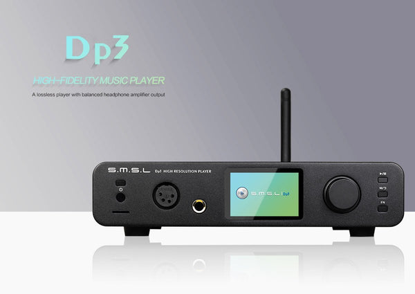 Apos Audio S.M.S.L | 双木三林 DAP (Digital Audio Player) SMSL DP3 Digital Audio Player (DAP)