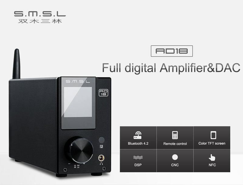 Apos Audio S.M.S.L | 双木三林 Headphone Amp SMSL AD18
