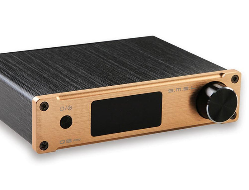 Apos Audio S.M.S.L | 双木三林 Headphone DAC/Amp SMSL Q5 Pro DAC/Amp Gold