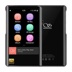Apos Audio Shanling | 山灵 DAP (Digital Audio Player) Shanling M2X Digital Audio Player (DAP) Black