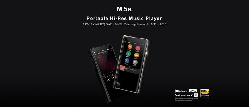 Apos Audio Shanling | 山灵 DAP (Digital Audio Player) Shanling M5S Digital Audio Player (DAP)