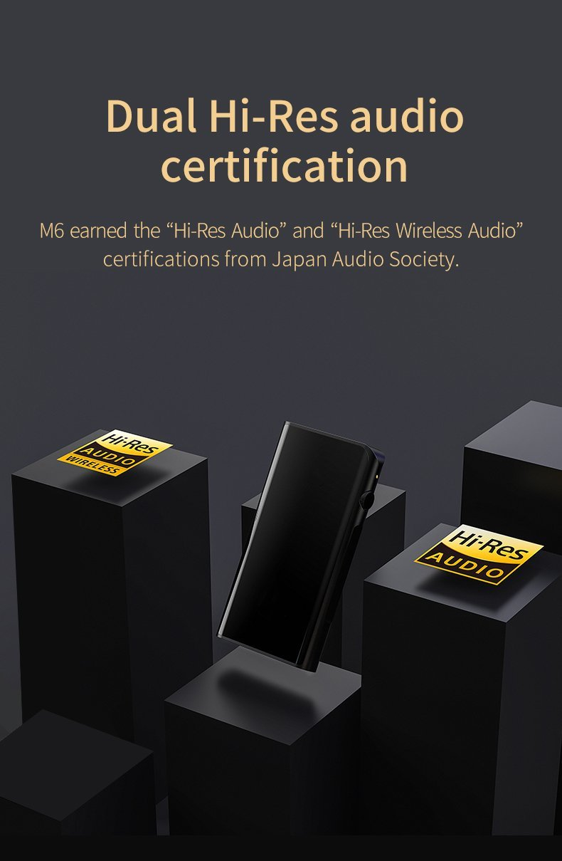 Apos Audio Shanling | 山灵 DAP (Digital Audio Player) Shanling M6 Digital Audio Player (DAP)