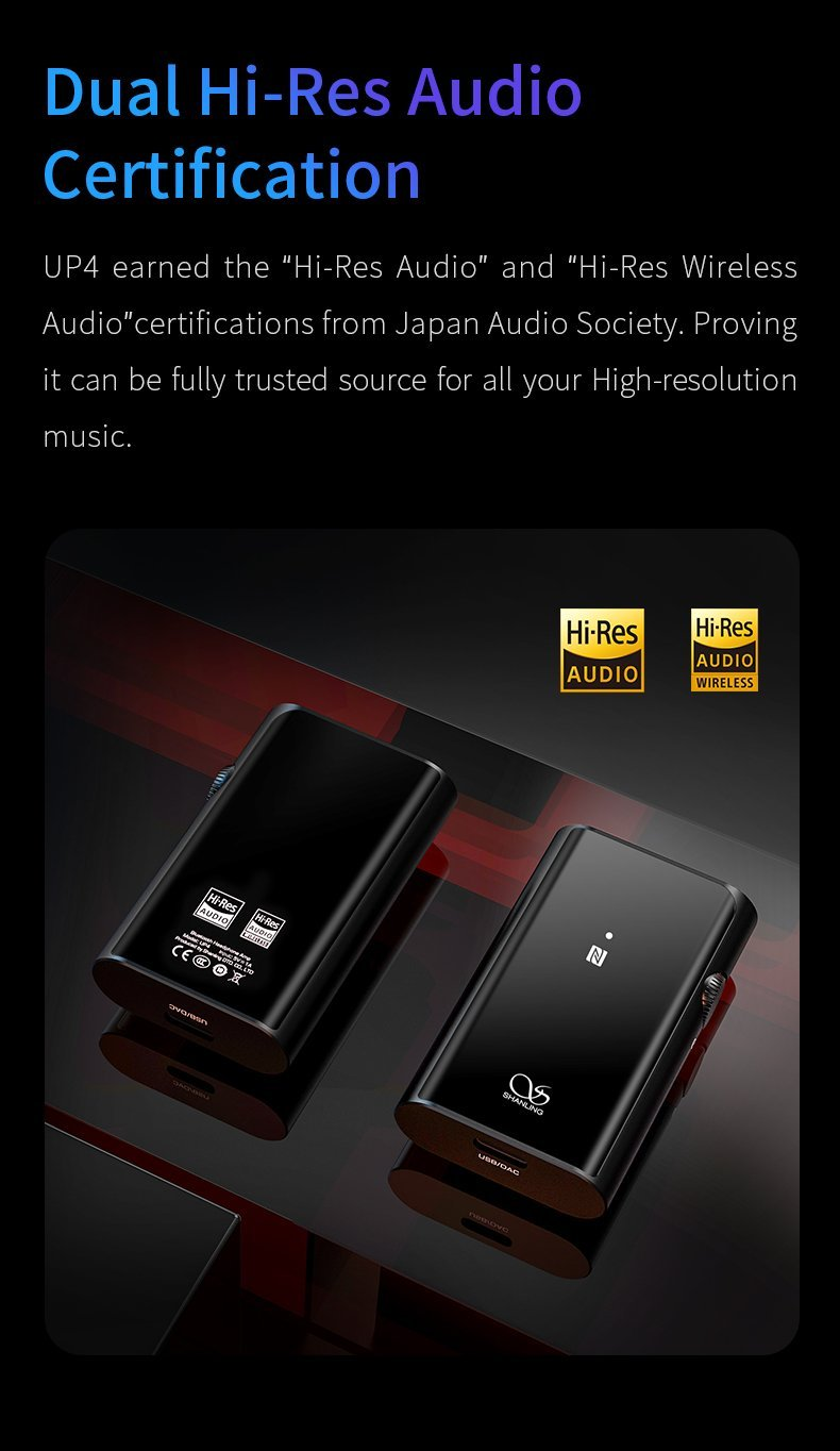 Apos Audio Shanling | 山灵 Headphone Amp Shanling UP4 Portable Headphone Amp