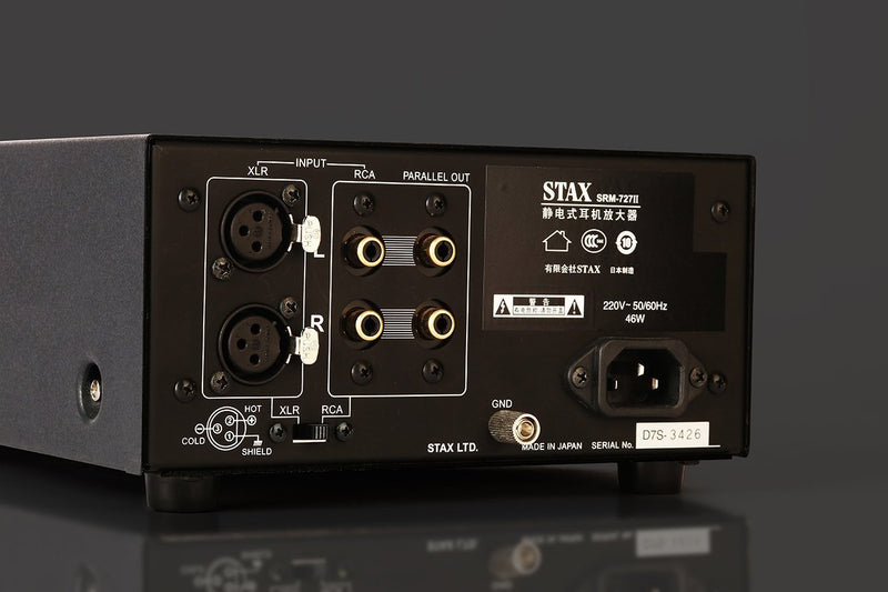 Apos Audio STAX Headphone Amp STAX SRM-727II Electrostatic Amp