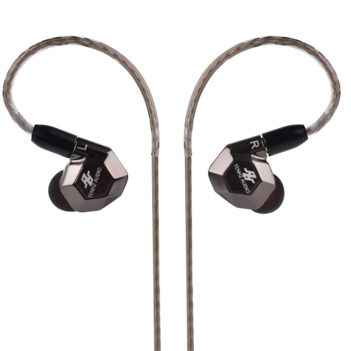 Apos Audio TENHZ | 十赫兹 Earphone / In-Ear Monitor (IEM) TENHZ K5 In-Ear Monitor (IEM) Earphones Gunmetal